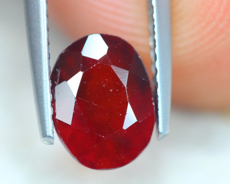 2.37ct Natural Hessonite Garnet Oval Cut Lot V5167