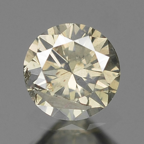 0.10 UNTREATED YELLOWISH GRAY NATURAL LOOSE DIAMOND