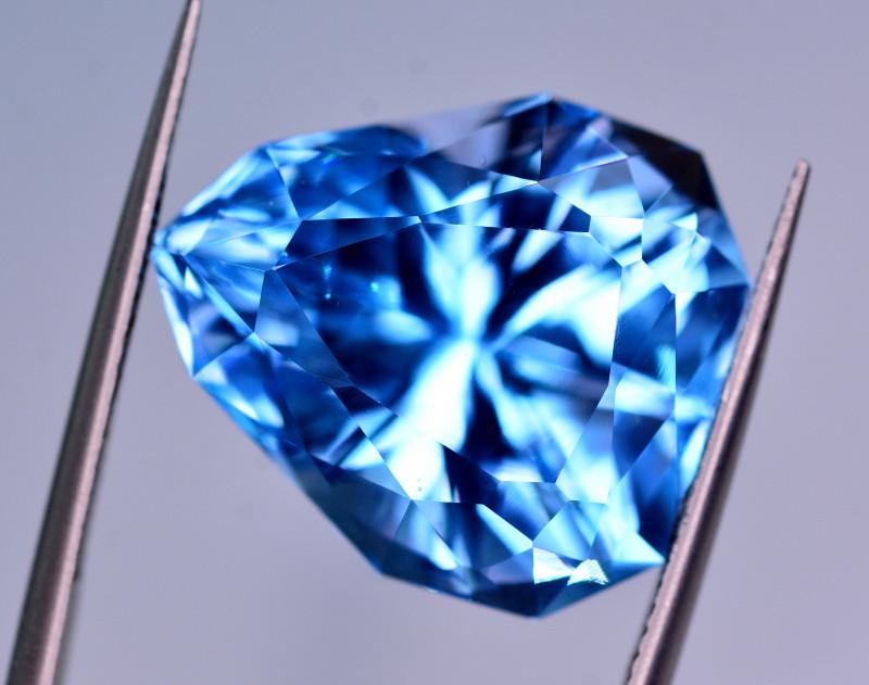 Stunning 25.50 Ct Natural Blue Topaz Gemstone