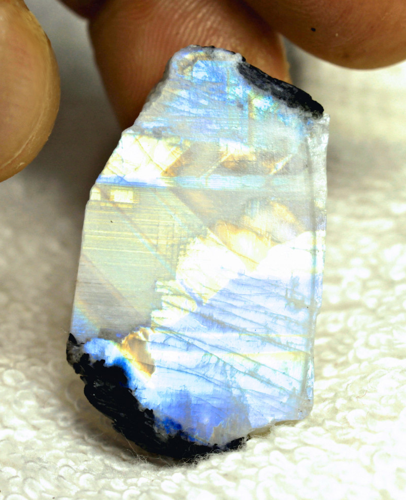 102.85 Carat Indian Moonstone Rough - Gorgeous
