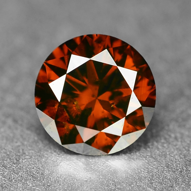 0.19 Sparkling Rare Fancy Deep Red Color Natural Loose Diamond