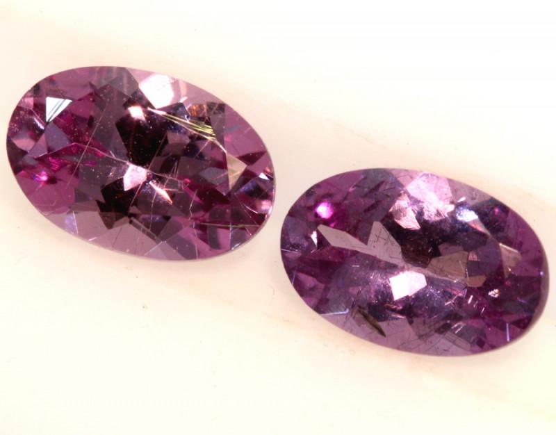 1-CTS-Pinkish Purple Spinel Pair  CG-2867