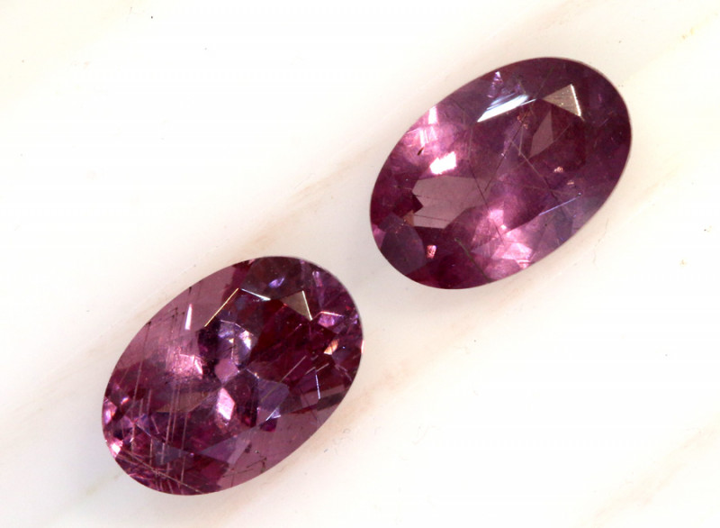 1.25-CTS-Pinkish Purple Spinel Pair  CG-2868