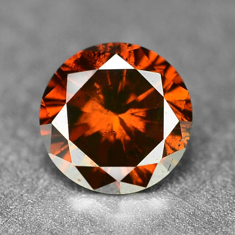 0.19 Cts  Sparkling Rare Fancy Intense Red Color Natural Loose Diamond