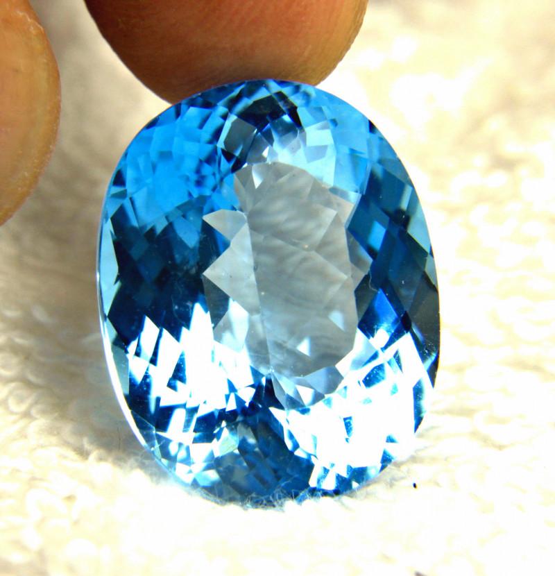 44.36 Carat VVS South American Blue VVS Topaz - Gorgeous