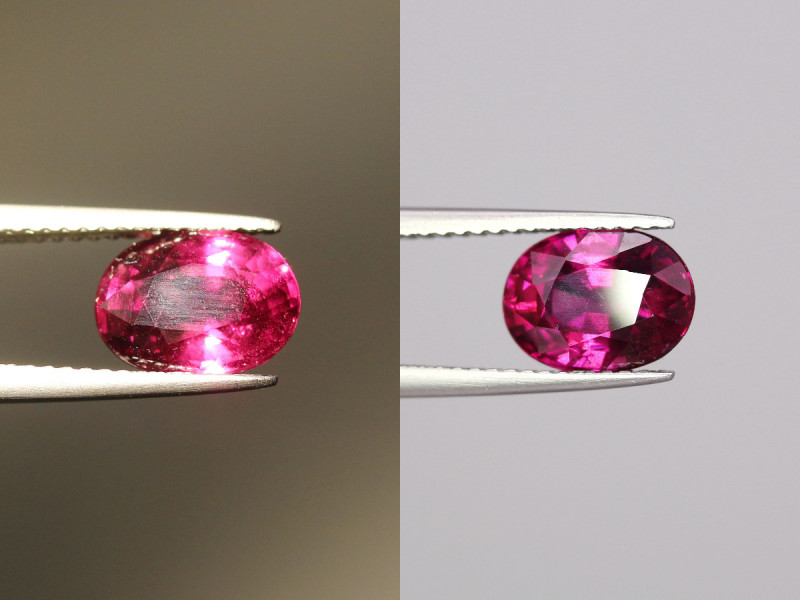 2.77Cts  Natural Red To Purple Garnet Gems