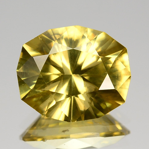 3.29 Cts Natural Imperial Yellow Zircon Sri Lanka Gem