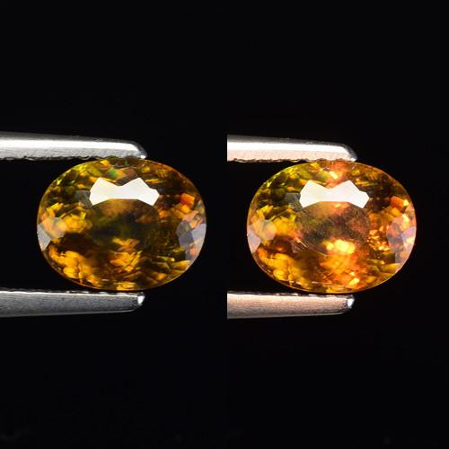 1.45 Ct Natural Sphene Sparkiling Luster Gemstone. SN 31