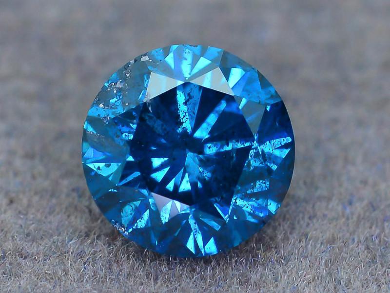 Aaa Grade 1 0 Ct Blue Diamond Sku 19
