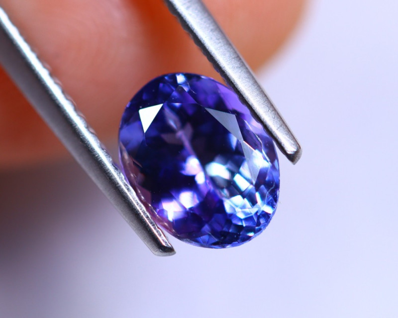 1.26cts Violet Blue D Block Tanzanite / RD290