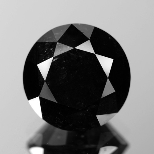 2.62 Cts Amazing Rare Fancy Black Color Natural Loose Diamonds