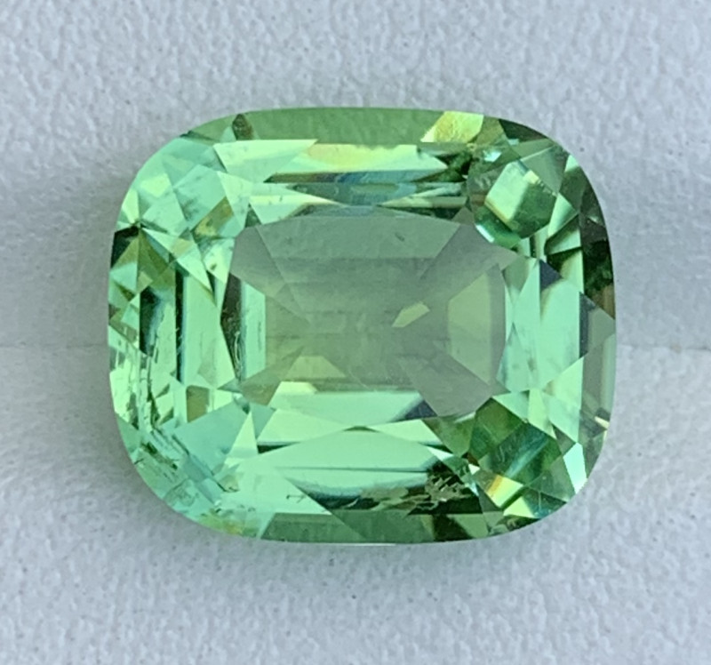 Mint Apple Green 5.75 Carats Natural Color Tourmaline Gemstones From  AFGHA