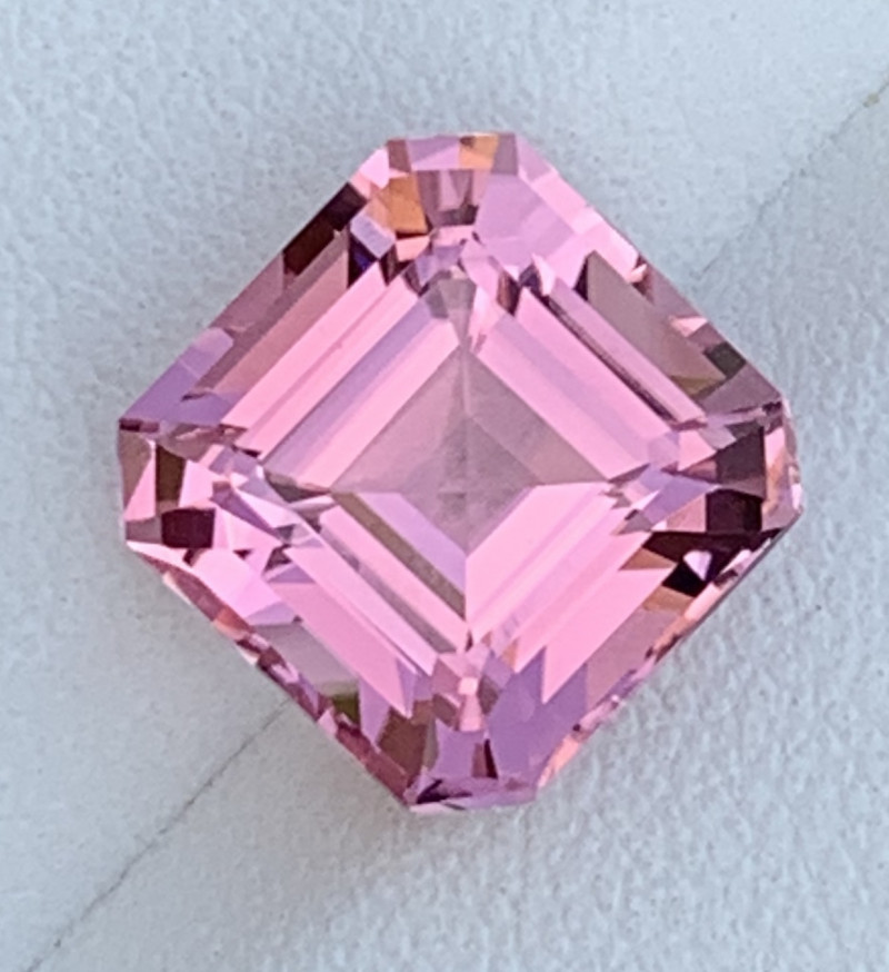 Baby Pink 6.31 Carats Natural Color Tourmaline Gemstone From AFGHANISTAN