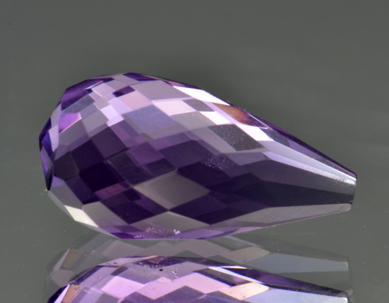 Natural Amethyst 6.77  Cts Top Clean Gemstone