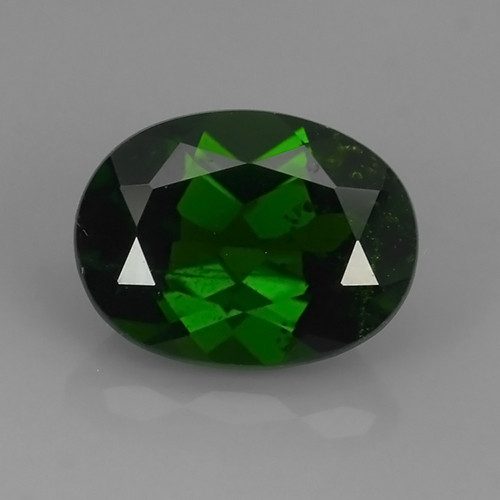 2.00 CTS NATURAL ULTRA RARE CHROME GREEN DIOPSIDE  RUSSIA