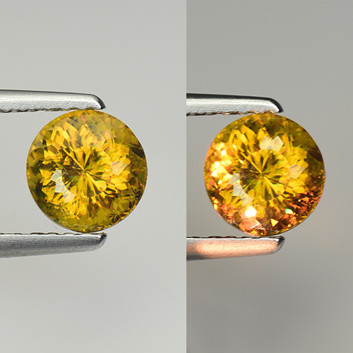 1.25 CT SPHENE WITH DRAMATIC FIRE GEMSTONE SP1