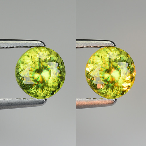 1.19 CT SPHENE WITH DRAMATIC FIRE GEMSTONE SP11