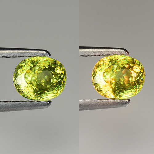 0.90 CT SPHENE WITH DRAMATIC FIRE GEMSTONE SP29