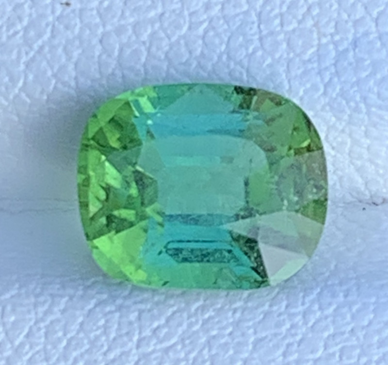 Mint Apple Green 2.95 Carats Natural Color Tourmaline Gemstone