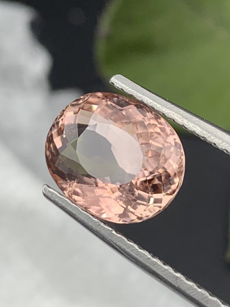 5.25 Carats Top Quality Natural Baby Pink Color Tourmaline