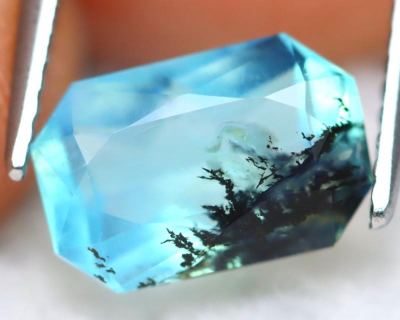 Dendrite Paraiba Opal 1.73Ct Natural Seaform Paraiba Blue Opal B0429