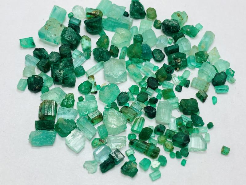 68 carats mix lot of swat and panjshir mine Rough Emerald Parcel