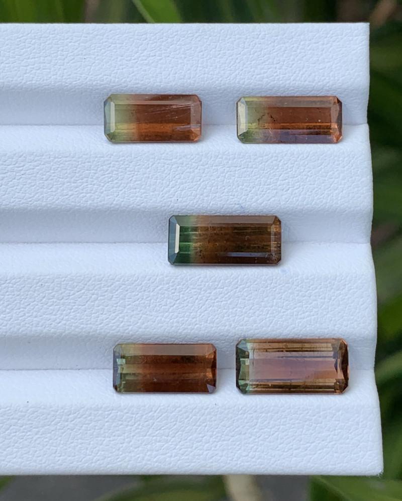 15.37 Carats Natural Bi Color Tourmaline Gemstone Parcels