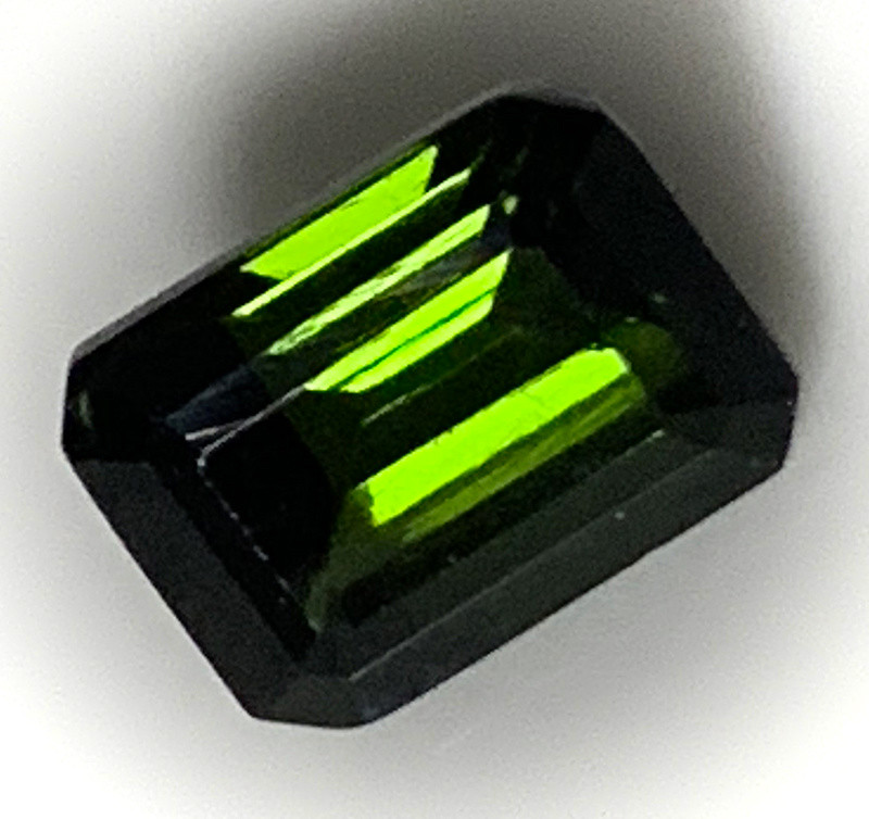 Dark Green Tourmaline Gem NR