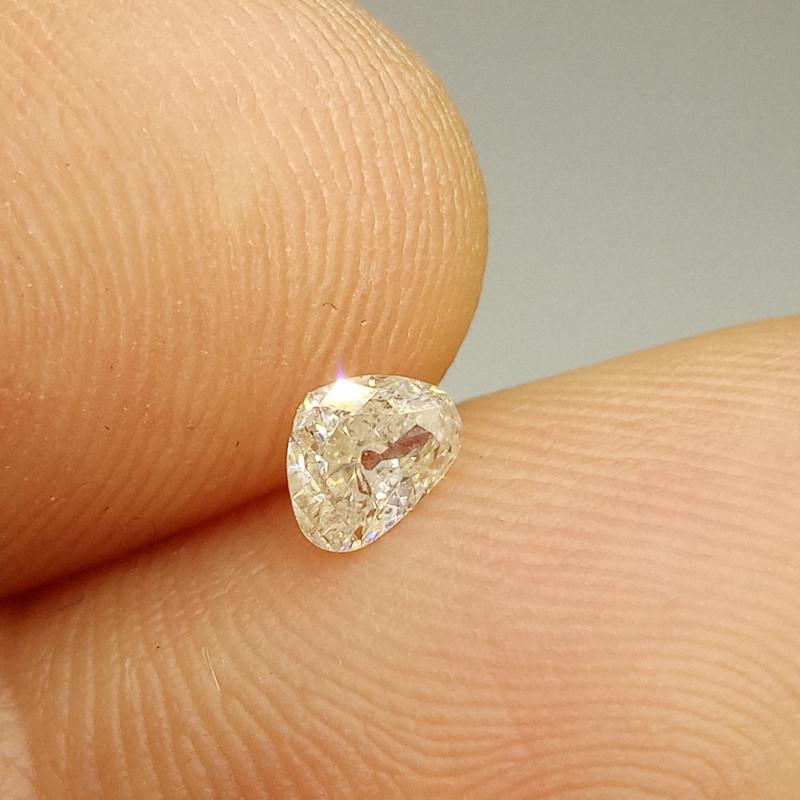 0.27ct J - I1  Diamond , 100% Natural Untreate