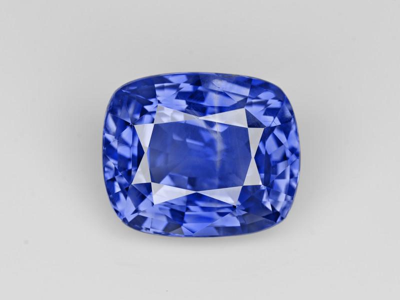 Blue Sapphire, 7.55ct - Mined in Sri Lanka | Certified by GRS