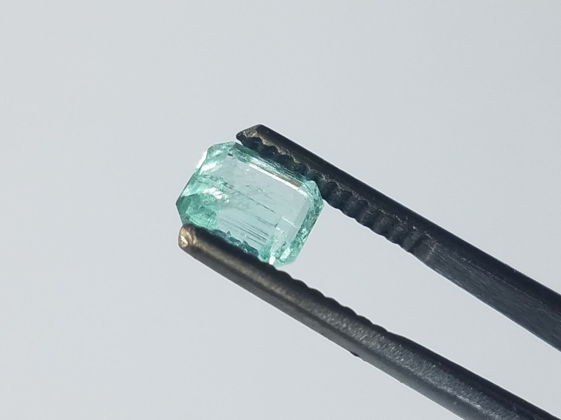 0.75 CT Panjshir Afghanistan Emerald Cut