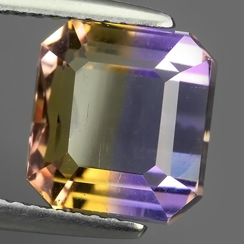 5.45 CTS WOW NATURAL AMETRINE BI COLOR OCTOGON