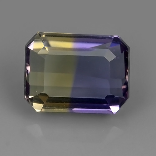 3.70  CTS WOW NATURAL AMETRINE BI COLOR OCTOGON