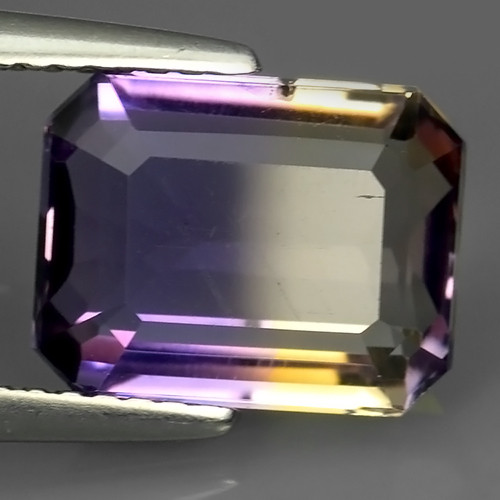 3.75 CTS WOW NATURAL AMETRINE BI COLOR OCTOGON