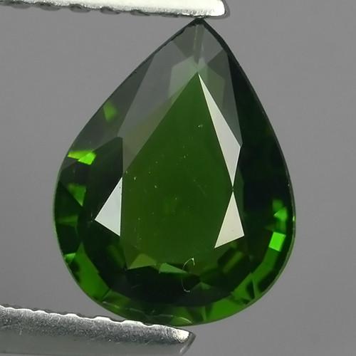 1.15 cts beautiful chrome tourmailne pear shape