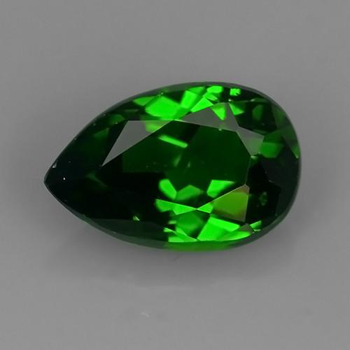 1.40 cts beautiful chrome tourmailne pear shape