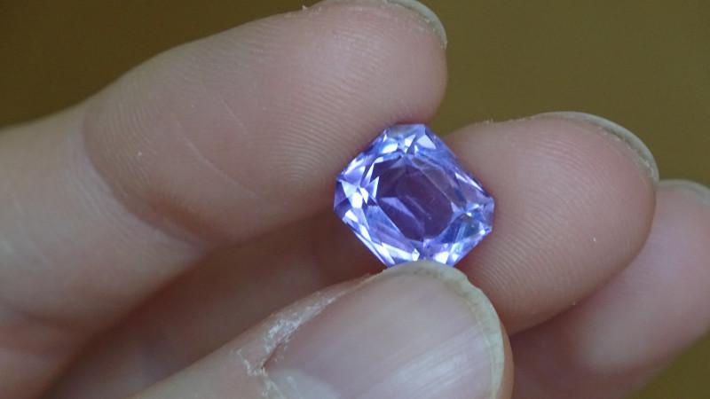 Amethyst - sweet glowing Material - 4.59ct -