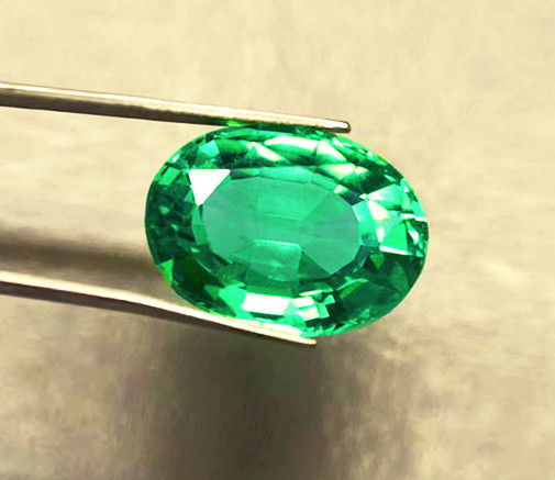 1.42 ct Lovely Natural Emerald Certified!