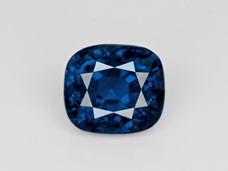 Blue Sapphire, 11.78ct - Mined in Sri Lanka | Certified by GRS