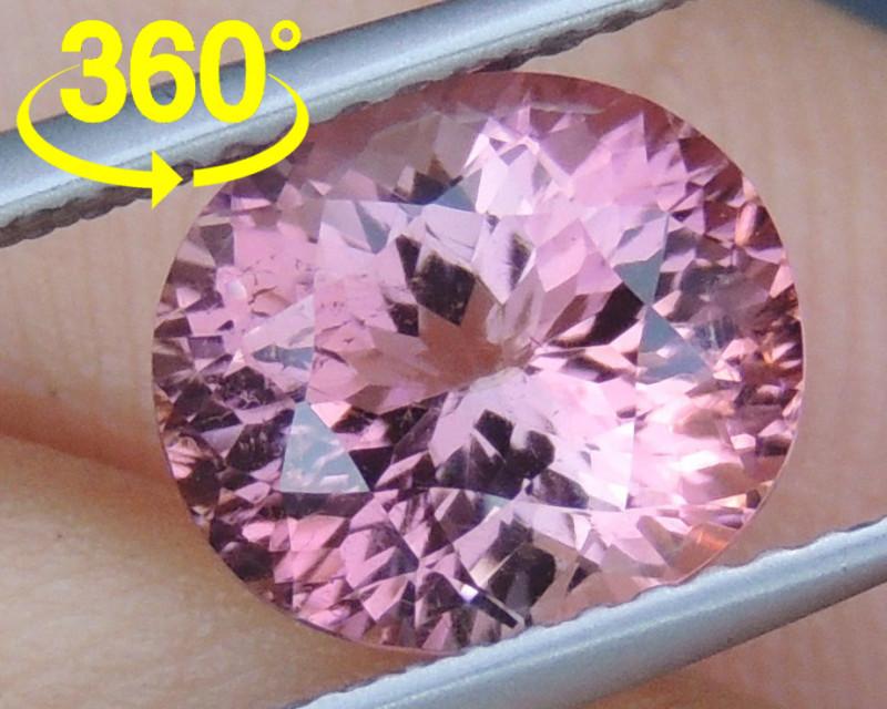 2.84cts, Precision Cut Tourmaline