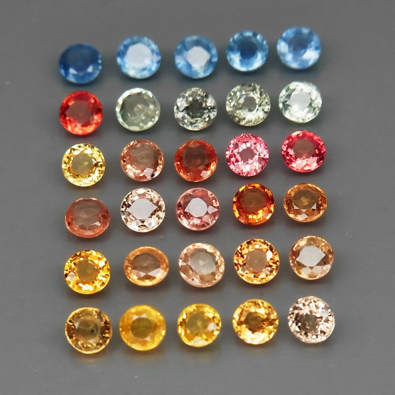 30 Sapphire - 5.41 cts - Fancy color - Africa