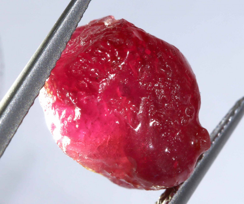 17.43 -CTS RICH RED RUBY ROUGH RG-4991
