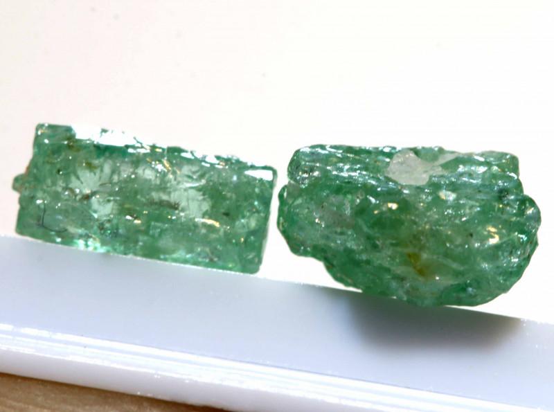 1.59 - CTS Emerald Rough Parcel RG-4995