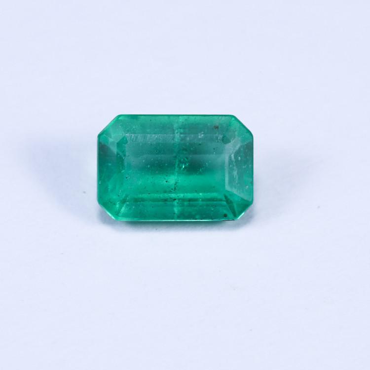 0.91ct Lab Certified Zambian Emerald