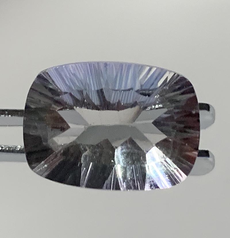 ⭐4.70ct Pale Mint Fluorite Concave Cut No Reserve