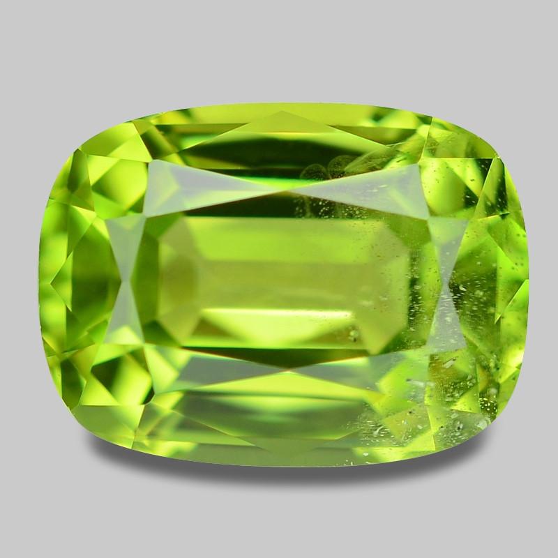 1.81 Cts Amazing Rare Fancy Green Natural Peridot Gemstone
