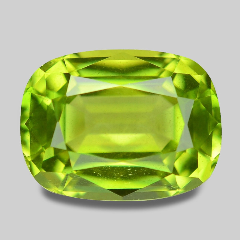 1.70 Cts Amazing Rare Fancy Green Natural Peridot Gemstone