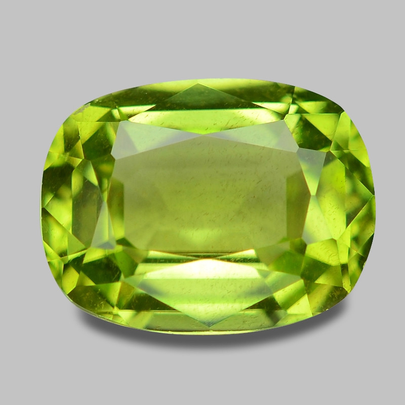 1.43 Cts Amazing Rare Fancy Green Natural Peridot Gemstone