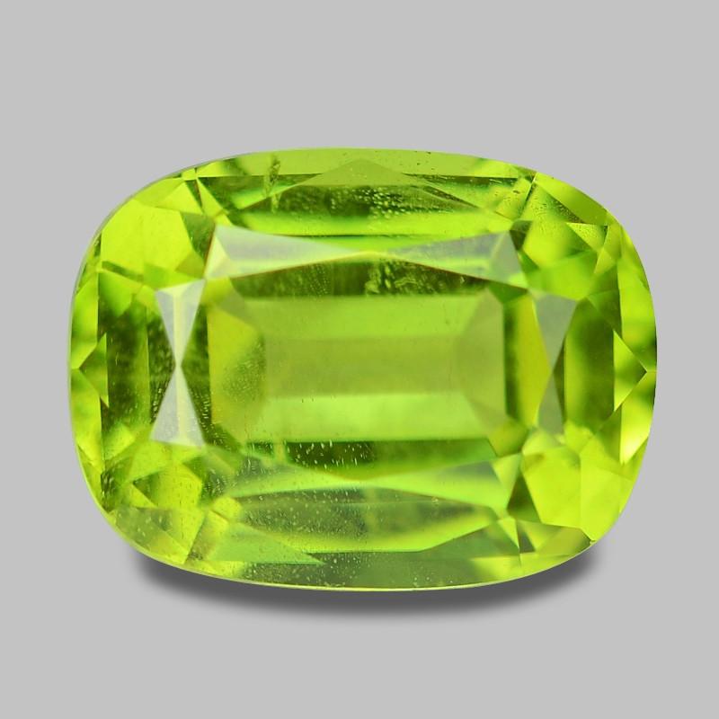 1.65 Cts Amazing Rare Fancy Green Natural Peridot Gemstone