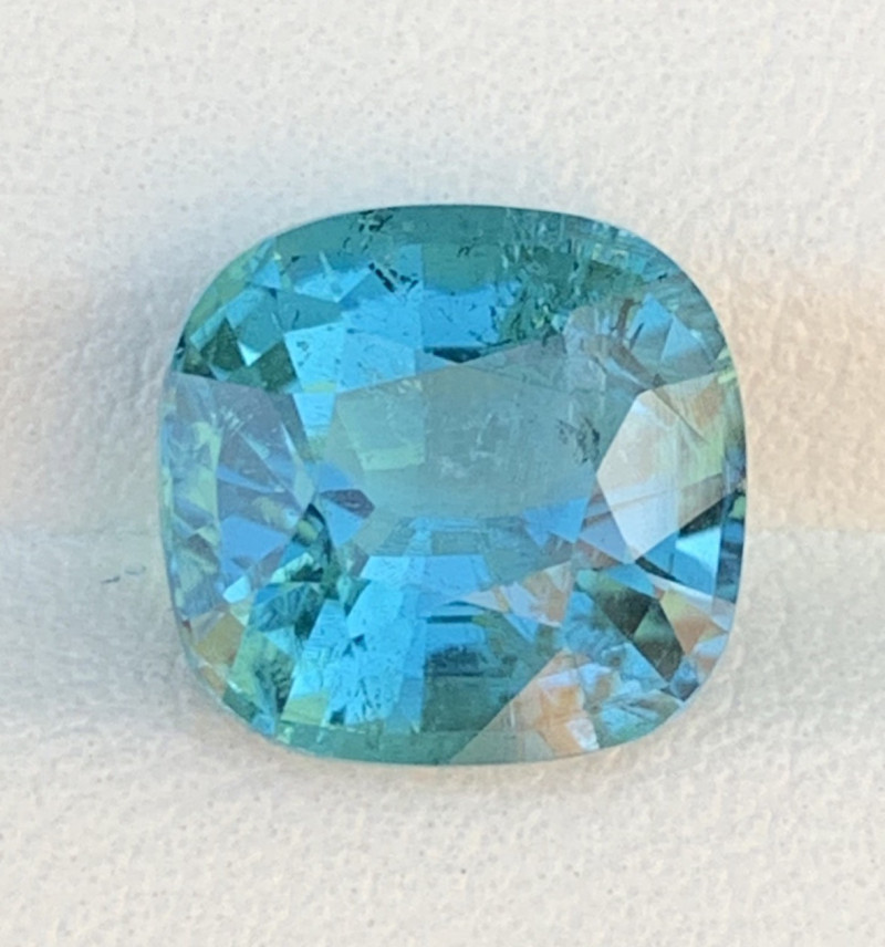 Royal Blue 4.52 Carats Natural Color Tourmaline Gemstone FROM AFGHANISTAN